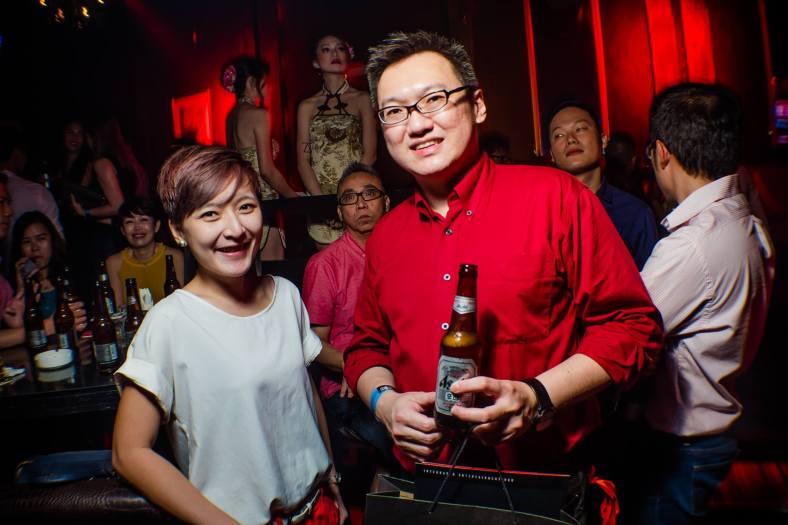 With Elynn from Carlsberg Malaysia