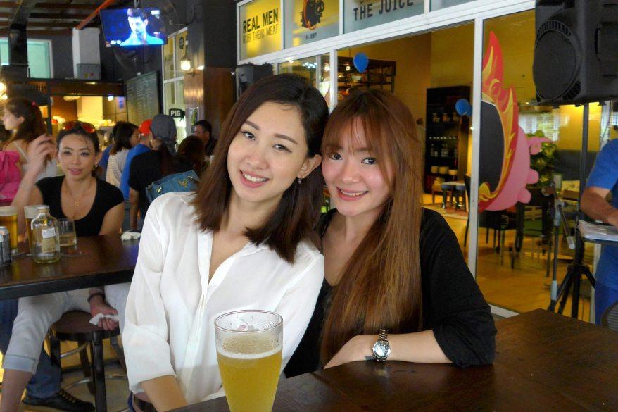 Sweet DJane Geri and her friend