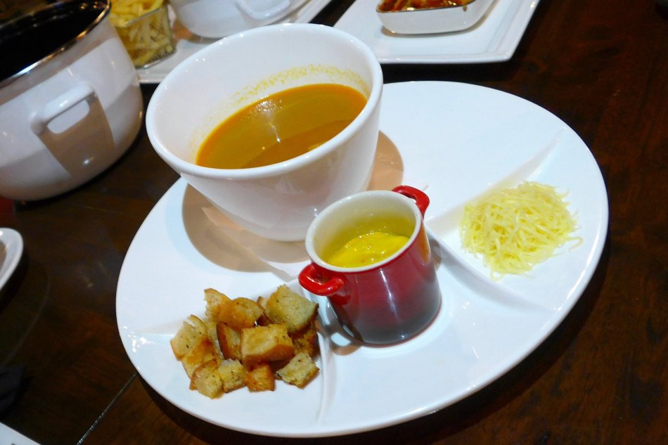 Fish Soup served with rouille sauce from Sete - RM18.00