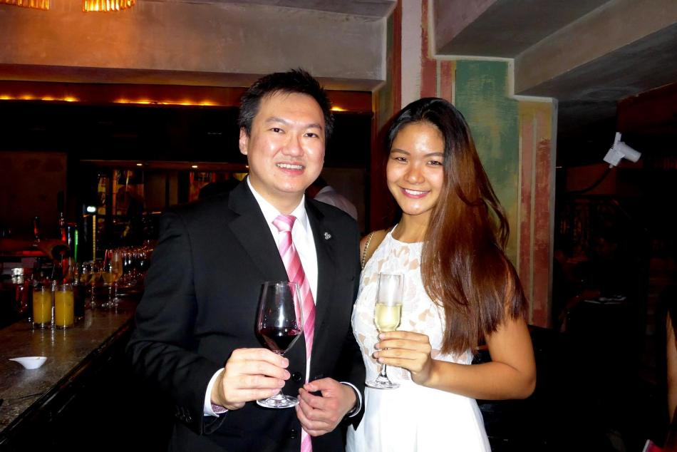 After which we headed down to Qba for a cocktail and a preview of the Christmas promotions at Westin KL's eateries