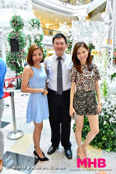 With Sharon Yong and Mei Sze