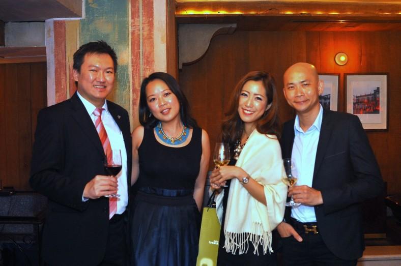 A pic with Yen from Westin KL as well as Ai and Andy Kho