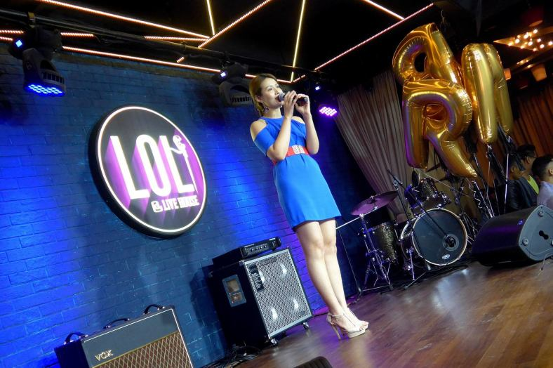 Songstress Soo Wincci performed 2 numbers for the birthday girl