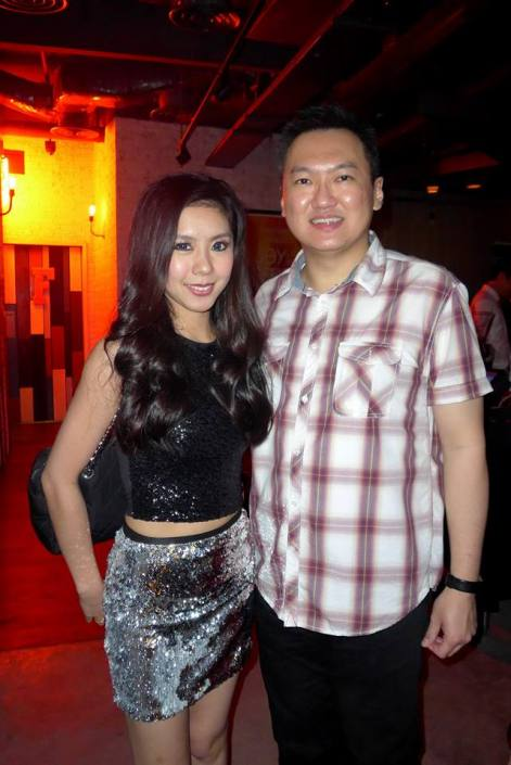 With the pretty and very talented Pinky Loo