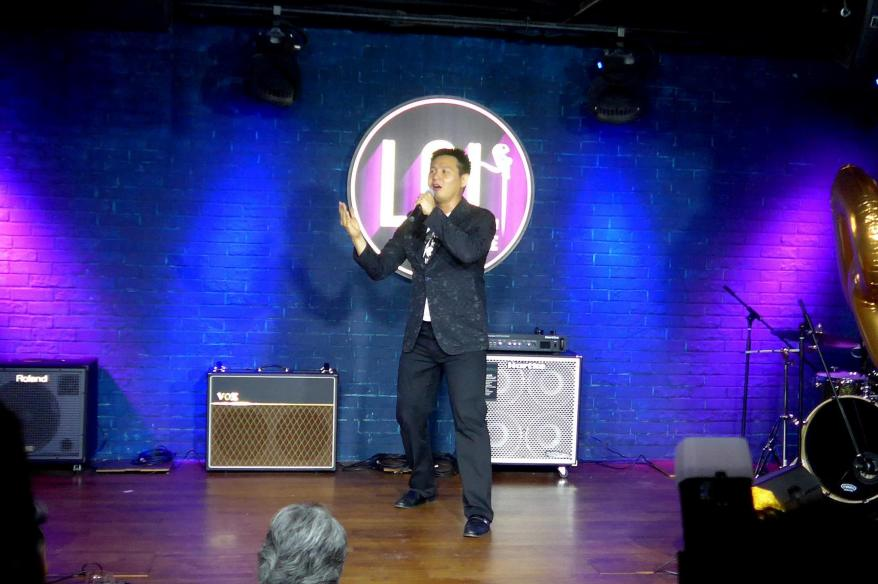 Stand up comedian Douglas Lim brought the house down with his jokes