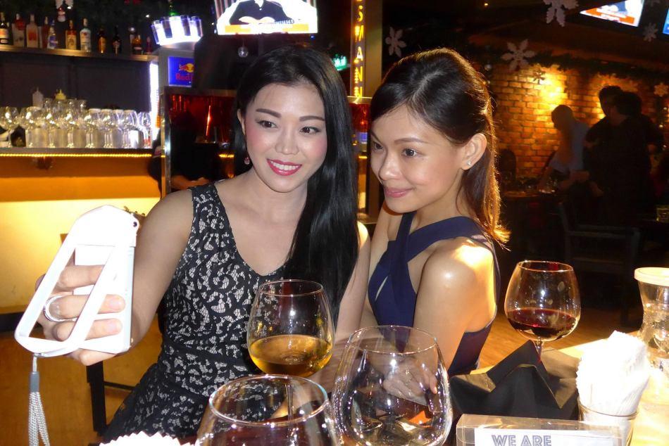 Senior blogger Kelly Chin with Jocelyn