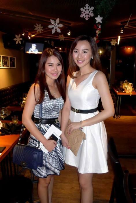 Kimberly Chu and Polly Yap