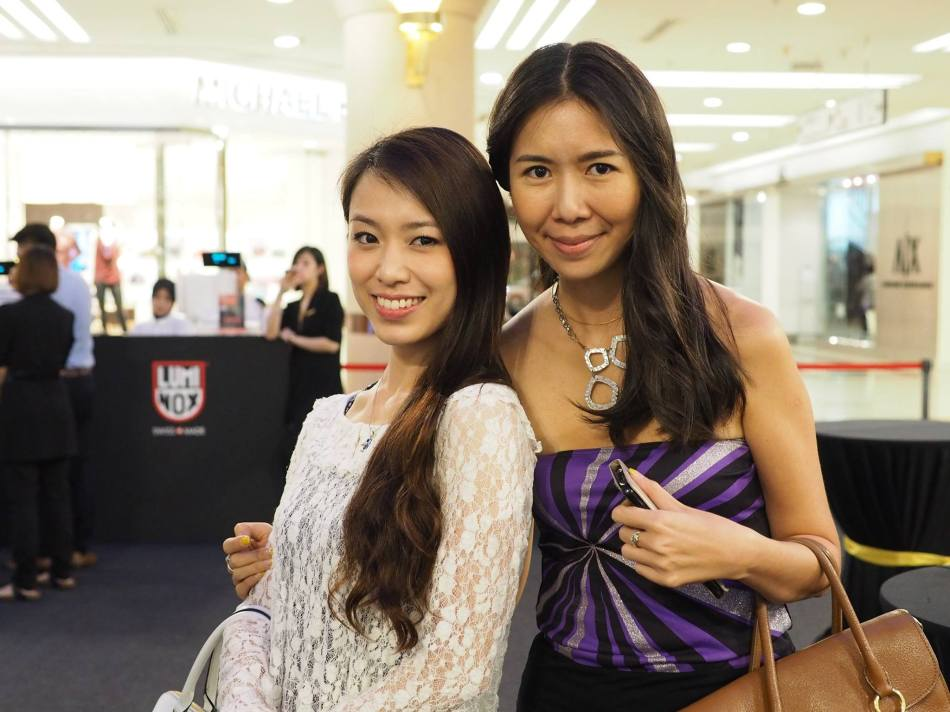 Eva and June Yap