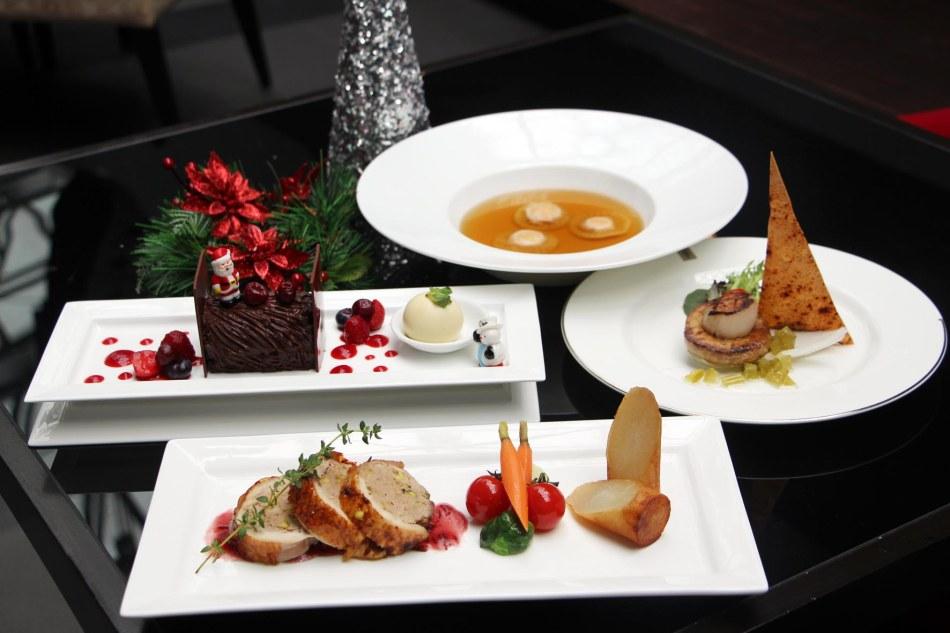 Cedar on 15 Impiana KLCC Hotel Christmas menu