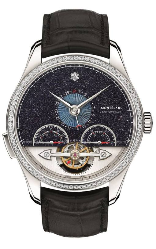 Montblanc Heritage Chronométrie ExoTourbillon Minute Chronograph Vasco Da Gama Diamonds Limited Edition 25
