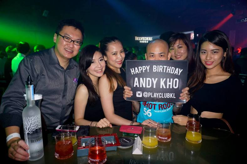 We also took the opportunity to celebrate Andy Kho's birthday
