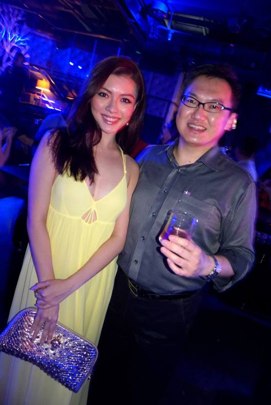A pic with the gorgeous Carey Ng - Miss Universe Malaysia 2013