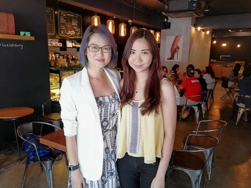 MHB's Kelly Siew and Sharon Loh