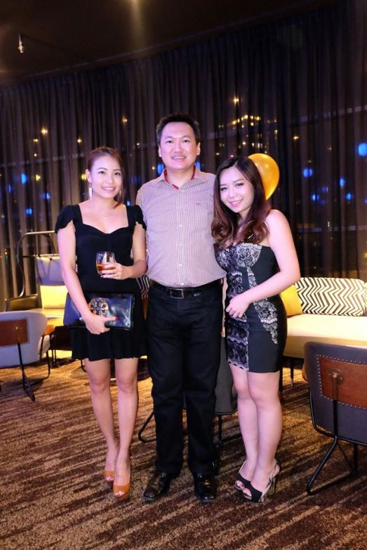 With MHB's Nicole Fu and my friend Frennee
