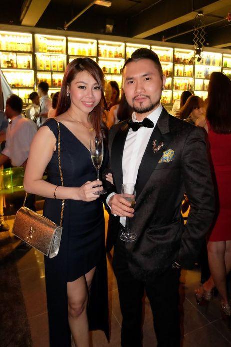Ong Evonne with violinist Dennis Lau