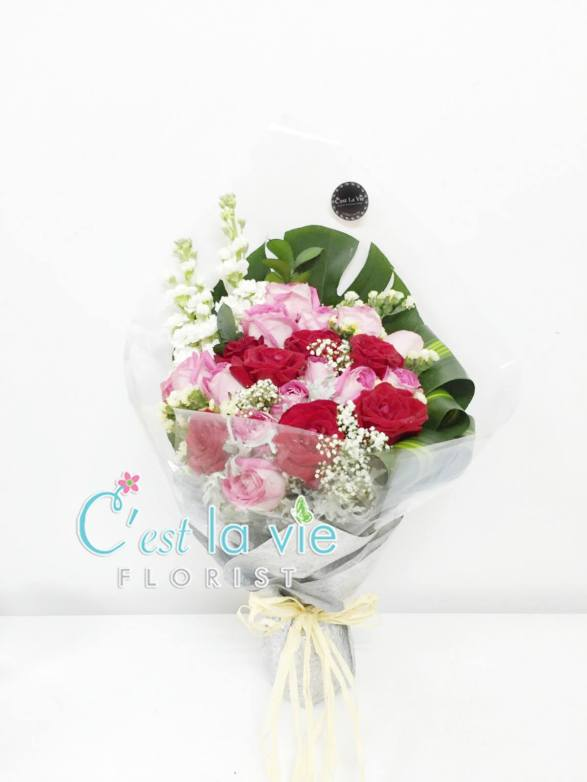 Side Bouquet (24 stalks of roses) - RM298.00