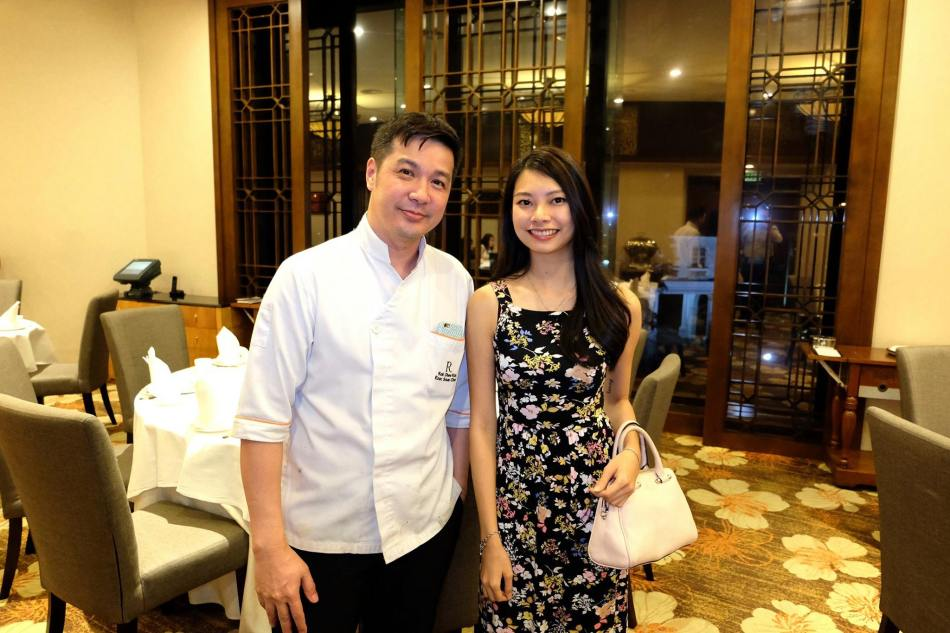Chef Kok with Adrienne