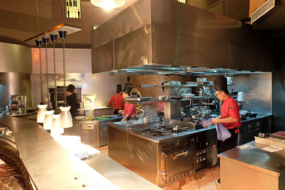 Prego has an open kitchen concept which is great for you to watch the chefs in action