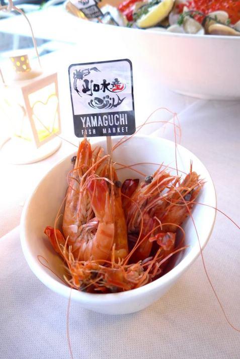 Poached Live Shrimps – RM46.00