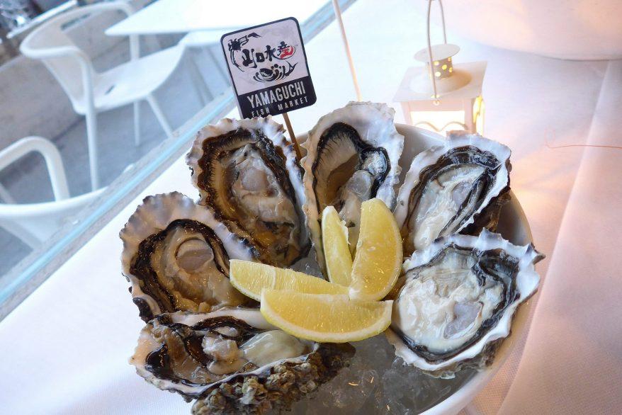 Fresh oyster platter – RM78.00