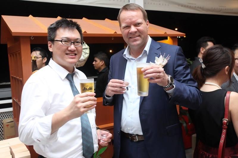 With Managing Director of Carlsberg Malaysia Henrik Andersen