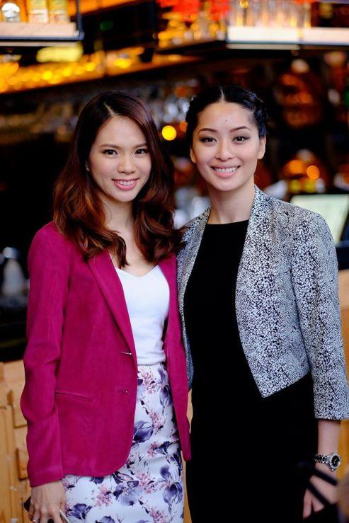 Mei Sze (L) and Sarah Lian (R)