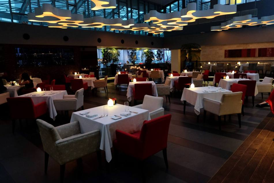 The very romantic main dining area