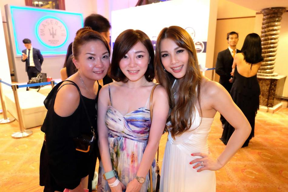 Miko and Josephine with the gorgeous Hannah Tan