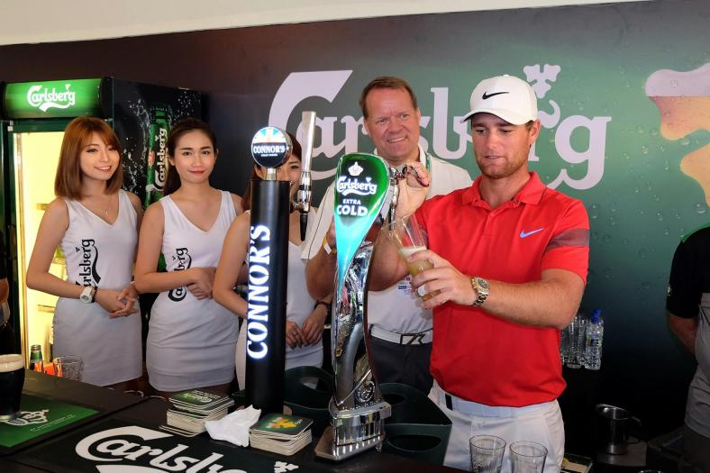 The Pavilion hospitality suite was the place to be with the Carlsberg bar serving ice cold pints of Carlsberg, Kronenbourg 1664, Connors Stout Porter, and Somersby cider!