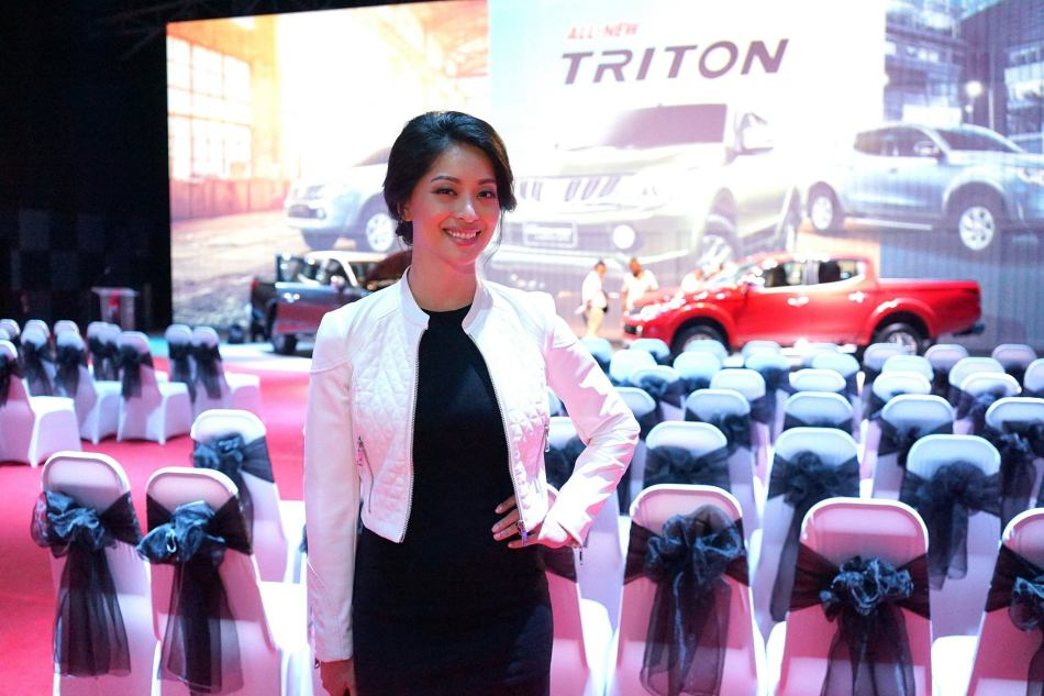 The gorgeous Sarah Lian was the MC of the event