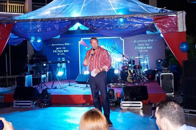 Henrik J Andersen, Managing Director of Carlsberg Malaysia