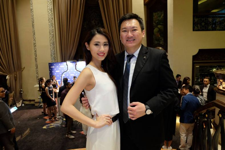 With Miss Online Personality Alicia Tan