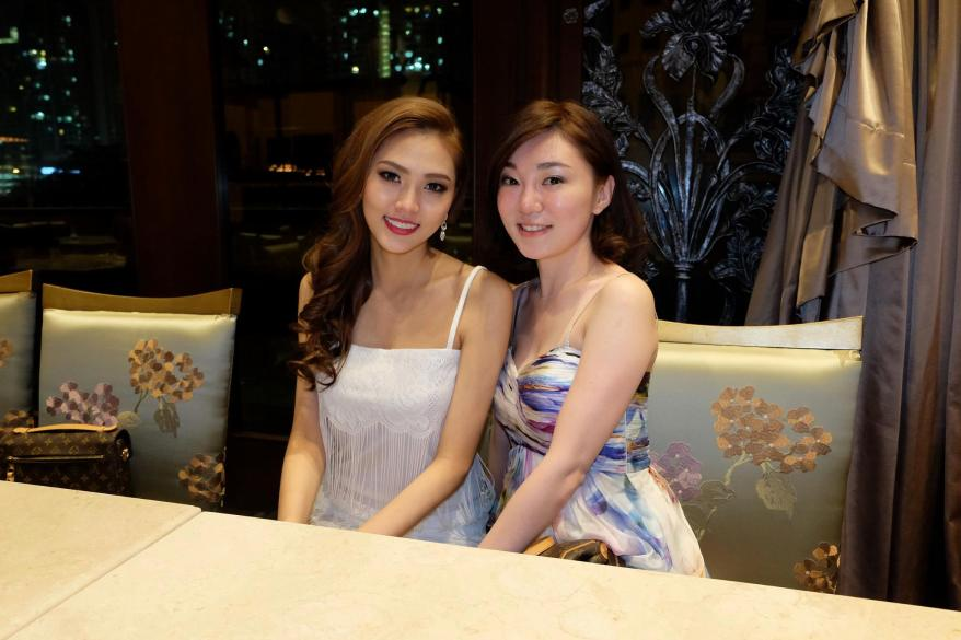 Josephine with top 8 finalist Jennifer Ling