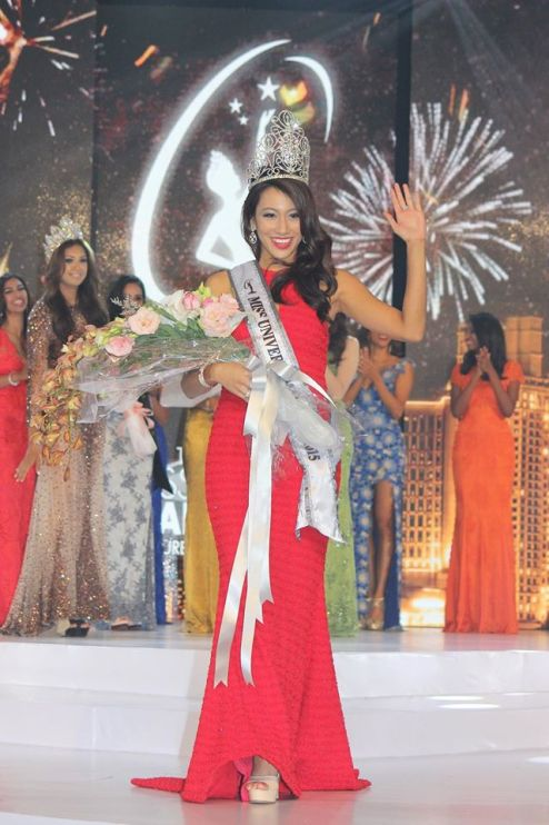 Vanessa Tevi was crowned the winner of this year's pageant