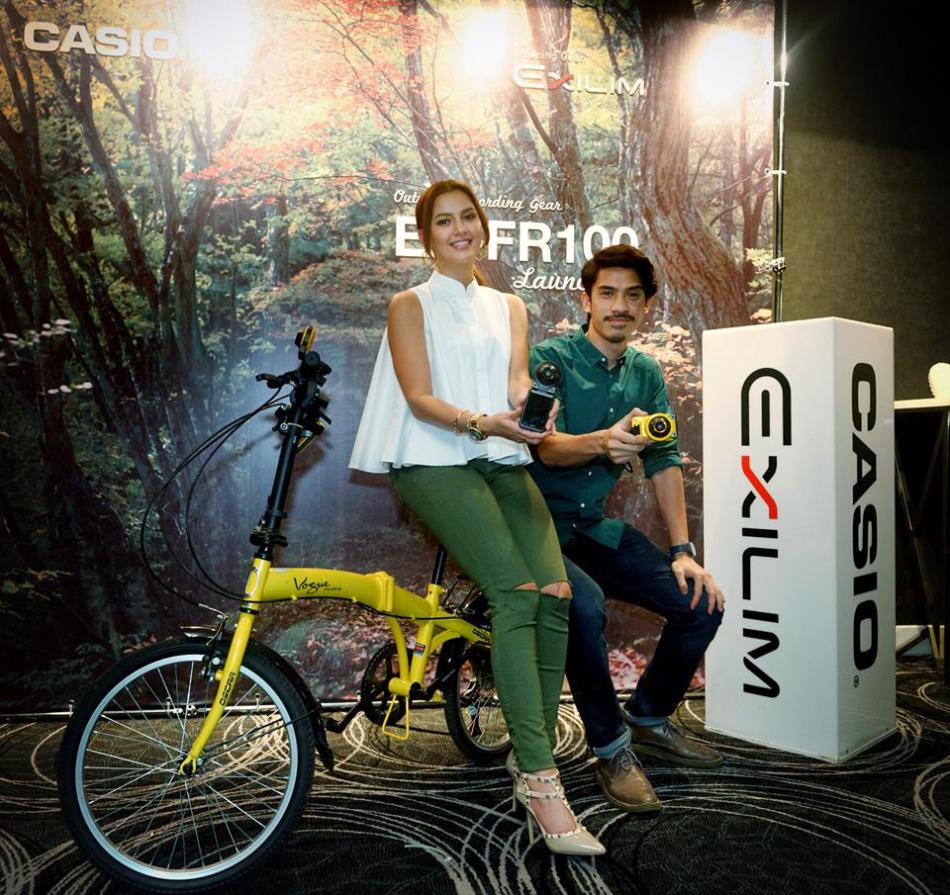 Juliana Evans and Iedil Putra