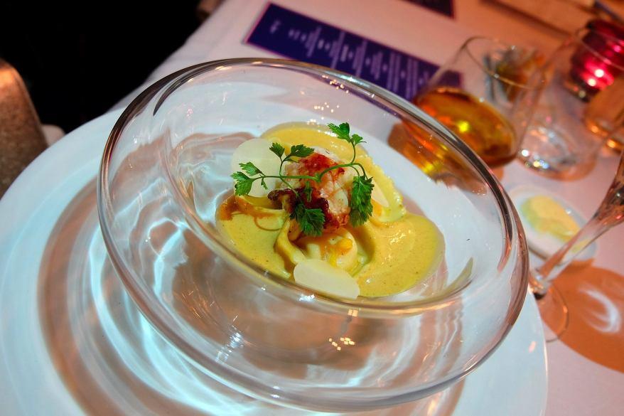 Brittany Blue Lobster Tortellinis, Losbter Bisque Cream