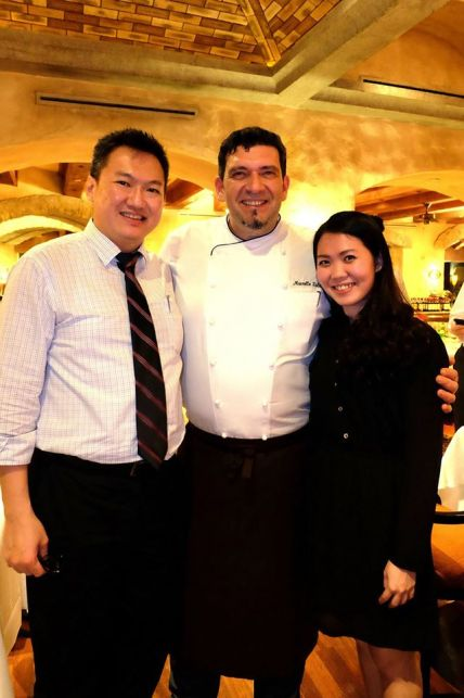 With Chef Marcello Fabbri and Melissa