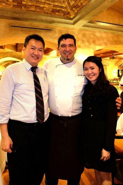 With Chef Marcello Fabbri and Melissa