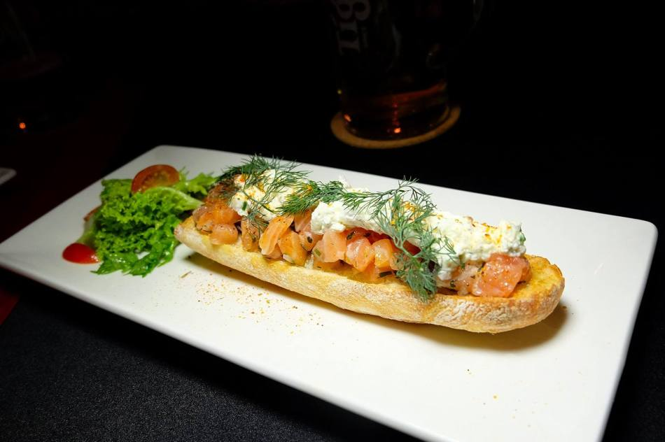 Tartines - Oslo - Marinated salmon and whipped spiced cream - RM32.00