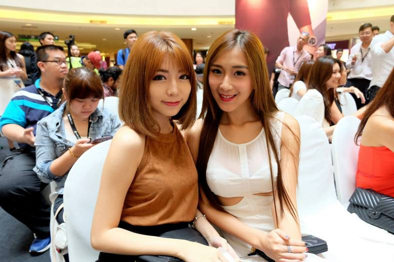 Popular Instagrammers Miko Wong and Leng Sean