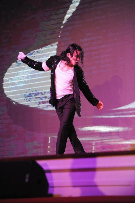 """Michael Jackson"" also performed at the awards"