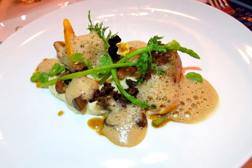 Slowly Cooked Revised French Veal Blanquette, Porcinis and Sweetbreads