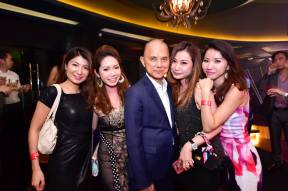 Jimmy Choo with adoring fans