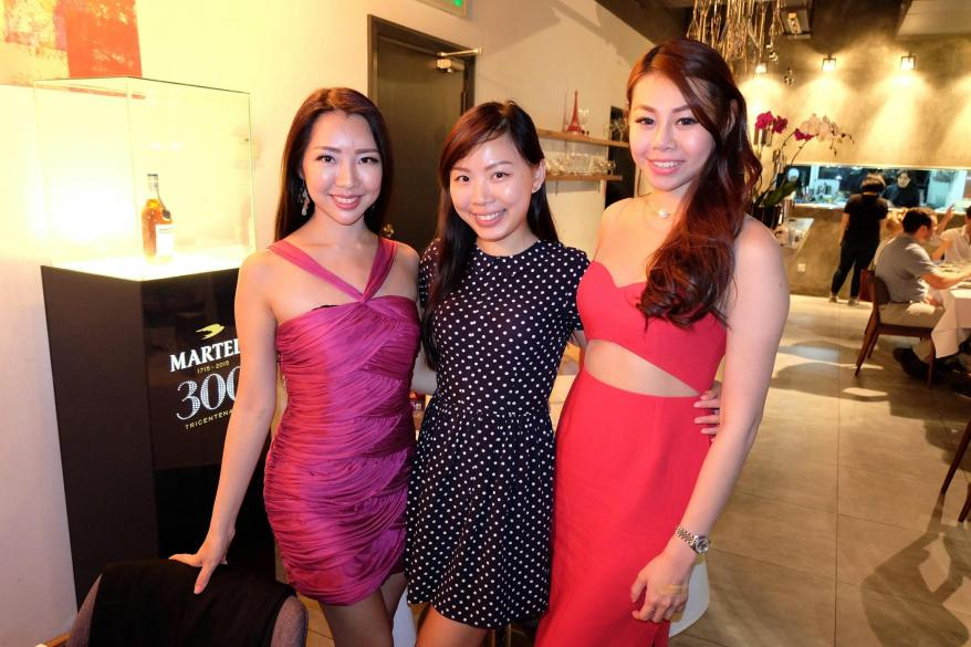 Janet and Evonne with our host Emily from Pernod Ricard Malaysia