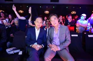 Jimmy Choo and Cher Ng