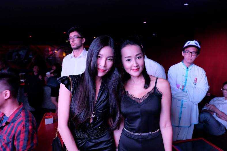 Miss Malaysia Levi Li was spotted in the crowd