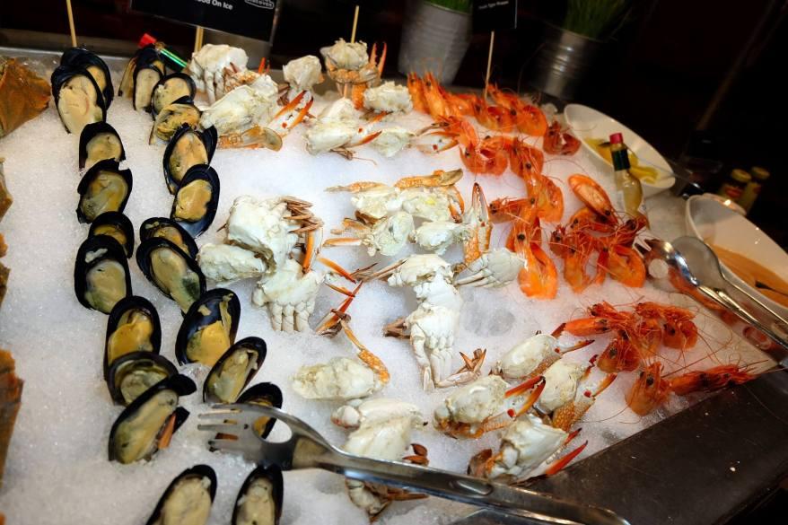 More seafood!
