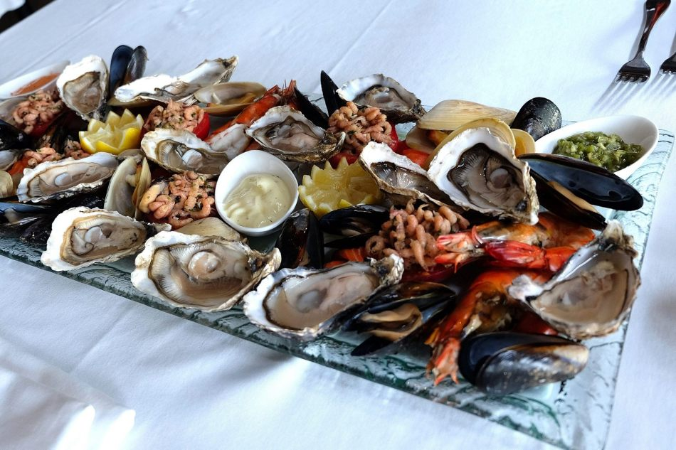 The seafood platter was simply awesome!
