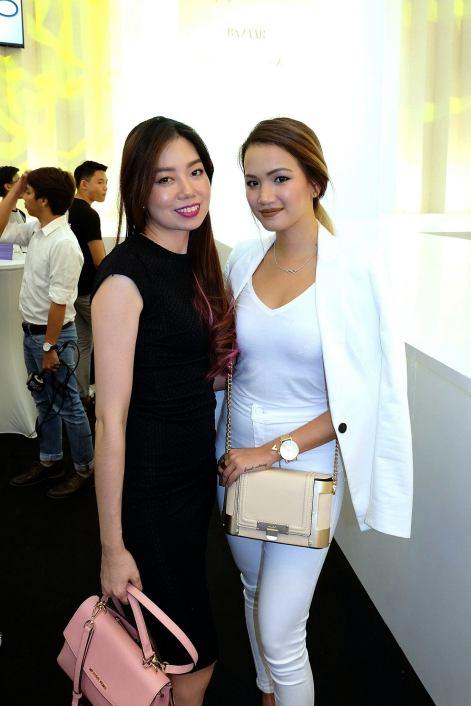 Paige Shem and Stephanie Lim