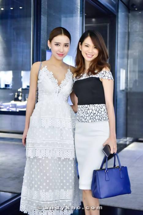 Choo Mei Sze with Venice Min